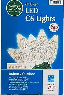 Winter Wonder Lane 60 LED C6 Lights - Warm White