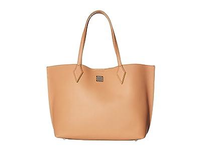 MCM Yris Shopper Medium (Sandstone) Bags