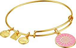 Charity by Design - Spiral Sun Expandable Charm Bangle Bracelet