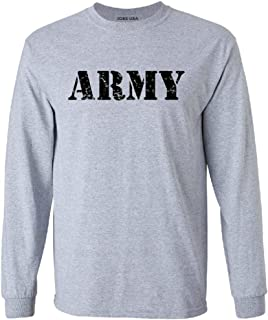 Vintage Army Logo T-Shirts, Sweatshirts and Hoodies in Sizes Small-5XL