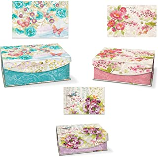 decorative gift boxes with magnetic closure