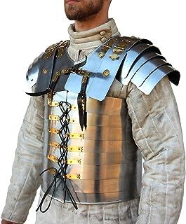 Roman Soldier Military Lorica Segmentata Body Armor 20g Steel
