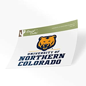 University of Northern Colorado UNC Bears Vinyl Decal Laptop Water Bottle Car Scrapbook (Sticker - 007)