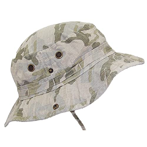 MG Camo Ripstop Floppy Bucket Summer Hat W Snap Up Sides 3798197af8b