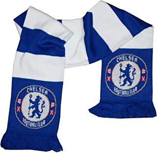 FC Chelsea 0717 Schal, Unisex Erwachsene, Mehrfarbig, Einheitsgröße
