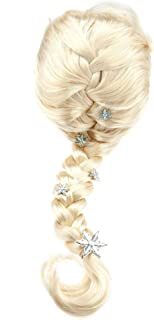 Disney Frozen Elsa Costume Wig for Kids Yellow