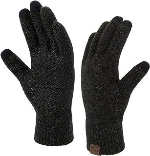 Best Winter Touchscreen Gloves for Men Women Anti-Slip Touch Screen Warm Lined Knit Review