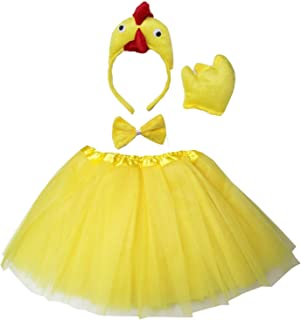 chicken costume girls