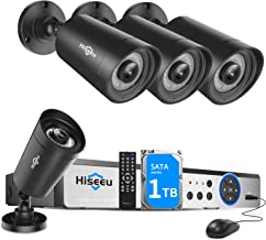 【5MP H.265+】 Hiseeu Wired Security Camera System,8CH 5MP...