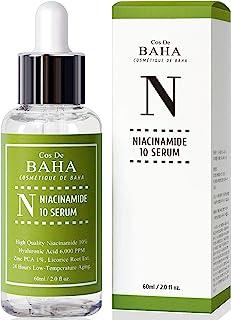Best Niacinamide 10% + Zinc 1% Serum for Face - Pore Reducer + Uneven Skin Tone Treatment + Diminishes Acne Prone, Korean Skin Care (2 fl-oz) Review