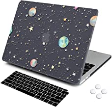 MacBook Pro 13 Case 2019 2018 2017 Release A2159/A1706/A1989/1706, DQQH Rubberized Plastic Hard Shell Cover with Keyboard Cover for Apple New Mac Pro 13 inch with/Without Touch Bar/ID-Starry Night