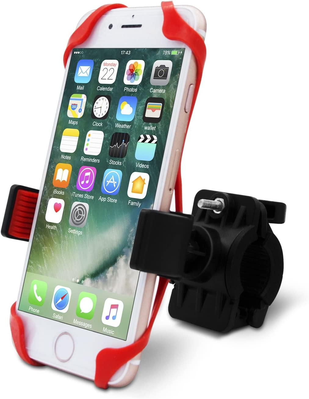 Bike Motorcycle Phone Mount for iPhone X 8 Max 47% OFF Luxury Plus 6 7