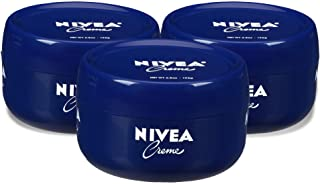 NIVEA Crème - Pack of 3, Unisex All Purpose Moisturizing Cream for Body, Face & Hand Care, Use After Hand Washing - 6.8 oz.