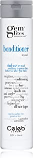 Gem Lites Bonditioner Dual-Use Conditioner: Moisturizing, Anti-Tangling, Anti-Frizz, Hi-Gloss Shine, Citrus Bloom, Prewash and After Wash for Color-Treated Hair, Sulfate-Free, Cruelty-Free, 100% Vegan