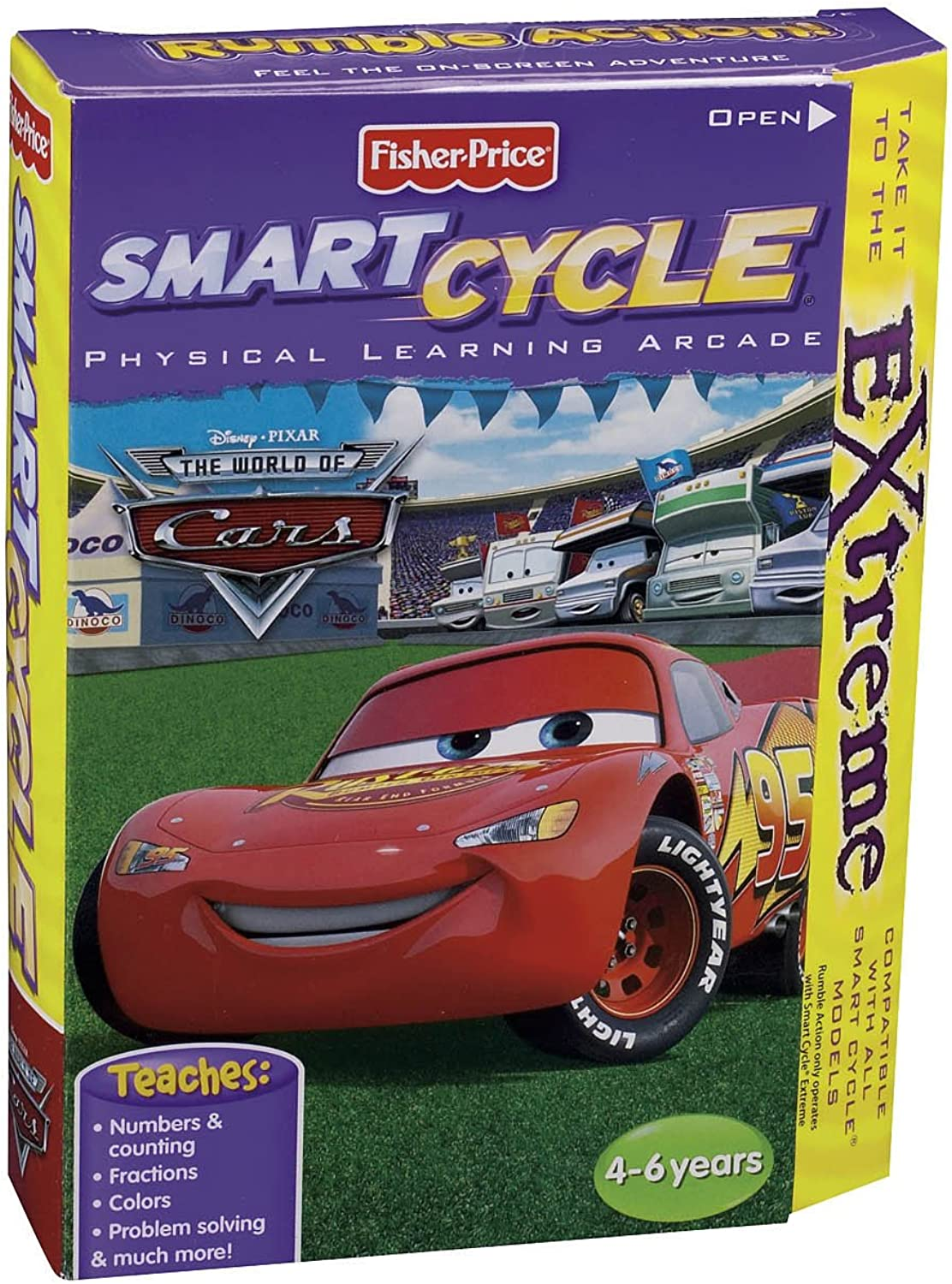 FisherPrice Smart Cycle Extreme The World of Cars