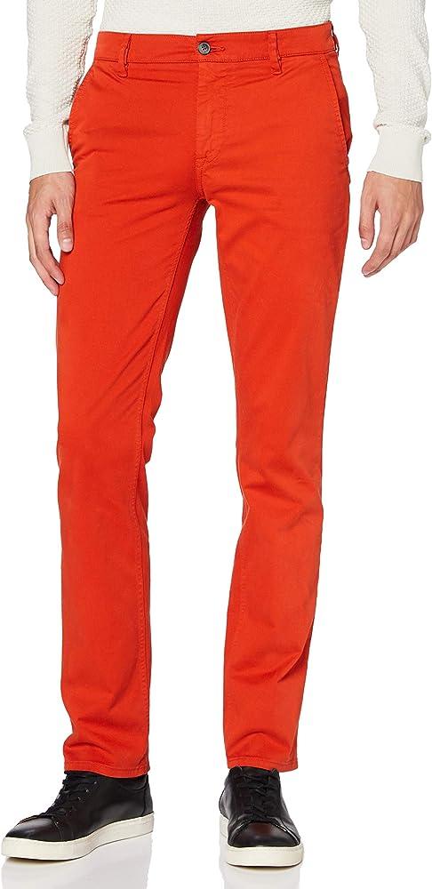 Hugo boss schino/slim d, pantaloni per uomo,97% cotone, 3% elastan,cotone elasticizzato 50379152A