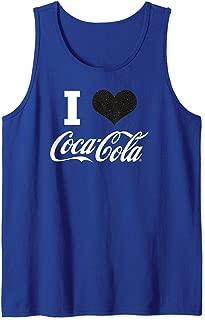 Coca Cola, Coca Cola I Heart Coca Cola  Tank Top