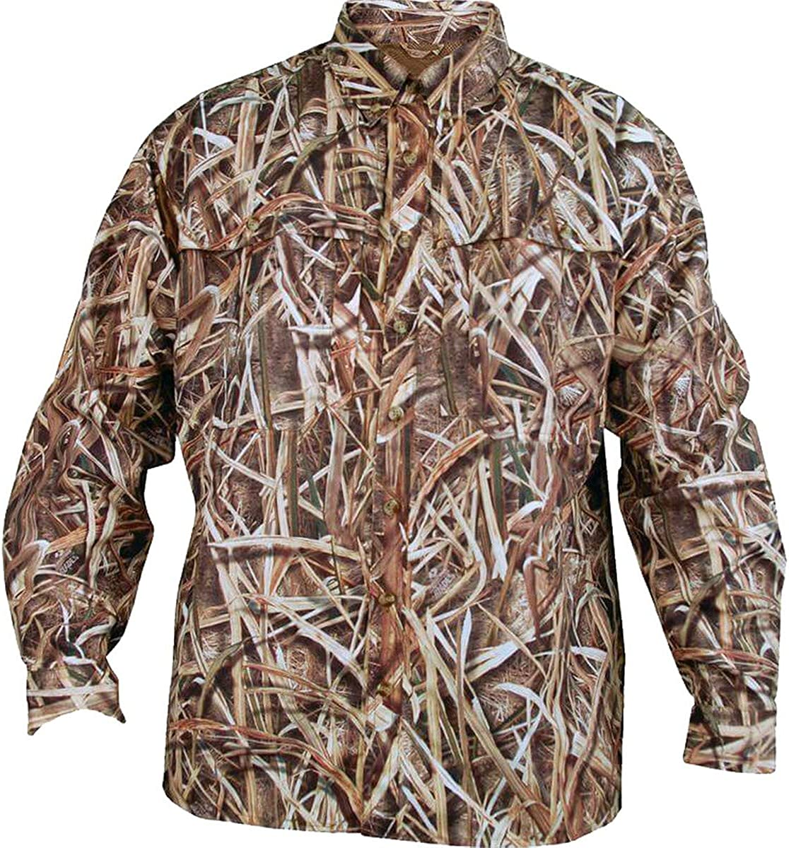 Browning, Wasatch-CB Long Sleeve Shirt, Mossy Oak Shadow Grass Blades, 2X-Large