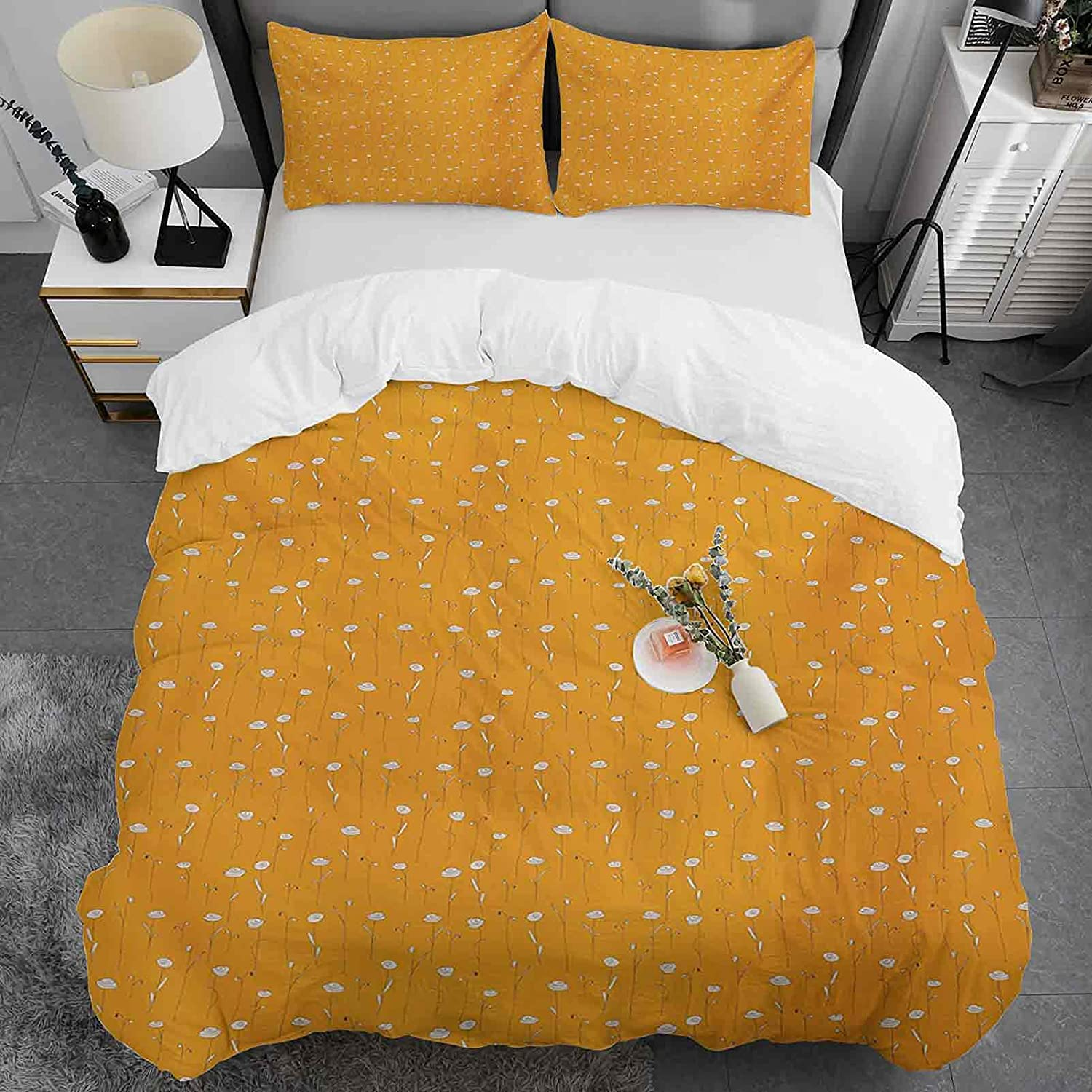 Kids Duvet Cover Twin Size Orange Sales of SALE items from new works Bru Soft Double Ultra New mail order Pattern