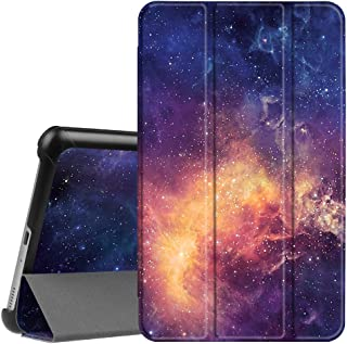 Fintie Slim Shell Case for Samsung Galaxy Tab A 8.0 2017 Model T380/T385, Ultra Lightweight Standing Cover with Auto Sleep/Wake for Galaxy Tab A 8.0 Inch SM-T380/T385 2017 Release, Galaxy