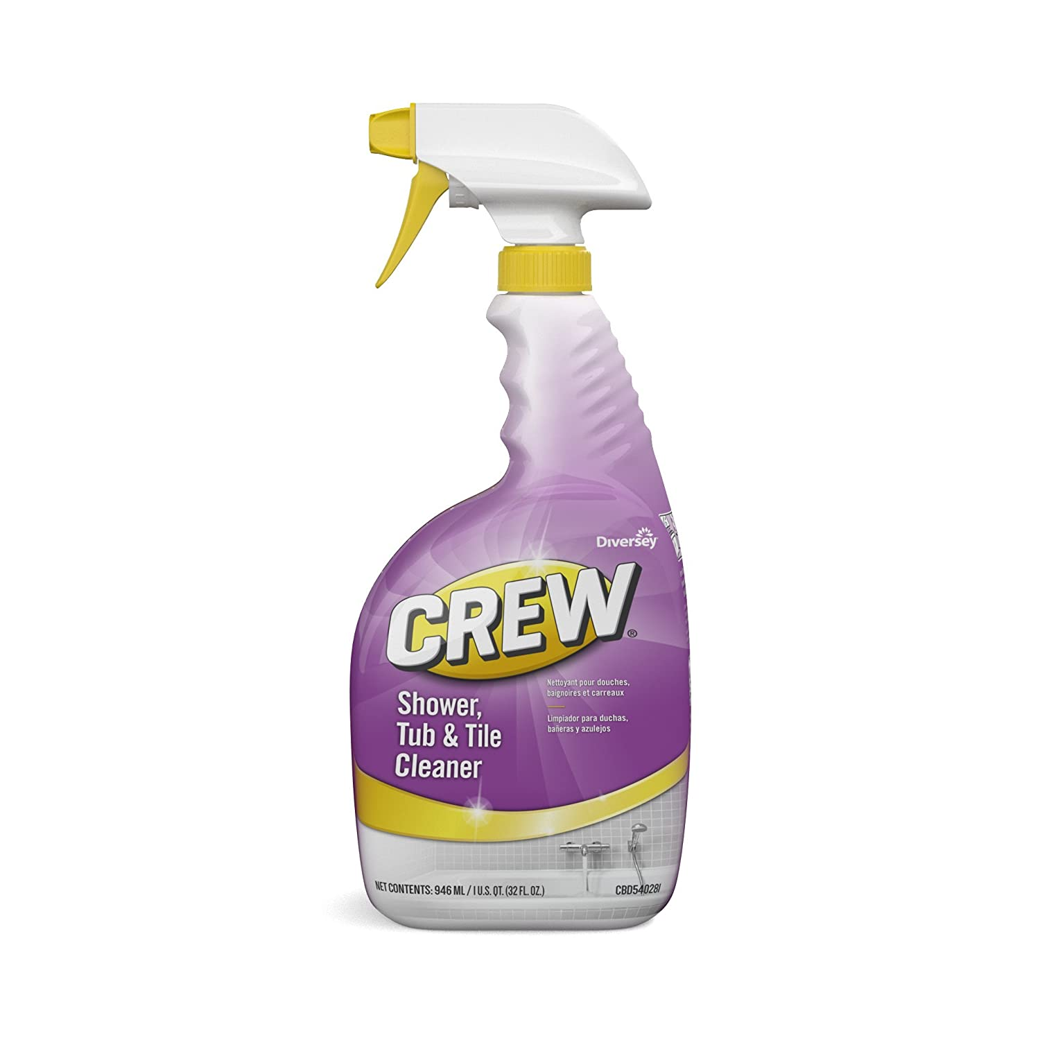 Diversey Crew Shower Tub and Tile Cleaner New popularity oz. mL Dedication 946 Spray B 32