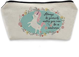 HomeLove Inc. Inspirational Quote Unicorn Pencil Case Gift for Kids Girls Daughter Friends