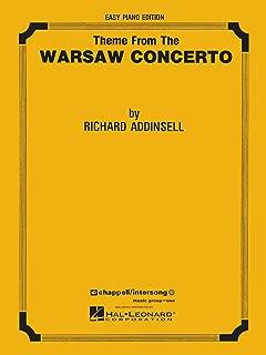 Warsaw Concerto (theme) Easy Piano Solo