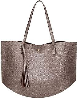 Women Shoulder Bag Soft Leather TopHandle Bags Ladies Tassel Tote Handbag Women's Handbags Hot