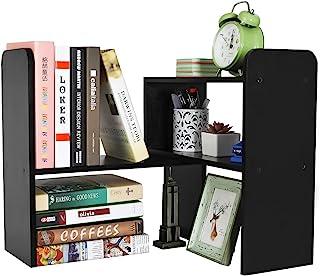 PAG دسکتاپ کتابفروشی قابل تنظیم کابینت آشپزخانه لوازم التحریر لوازم التحریر چوب لوازم التحریر لوازم جانبی نمایش رک، سیاه