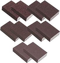 Vegena Schuurspons, 10 stuks handschuurmachines, 36/60/80/100/120, verschillende grove specificaties schuurblok, schuurspo...