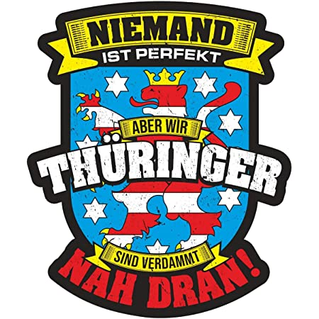 Aufkleber Wetterfest Hüte Dich Ddr Thüringen 15 Oder 53cm Ossi Bundesland Zone Auto