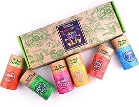 Earth Inspired Gulal 6 in 1 Red, Yellow,Pink, Green, Blue, Orange Herbal Gulal Gift Set (6x50 gm)