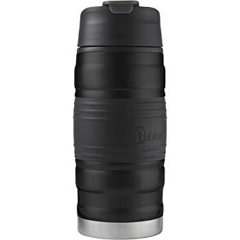 bubba Hero Dual-Wall Vacuum-Insulated Stainless Steel Tumbler with Grip, 12 oz., Black