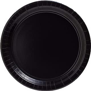 amscan Big Party Pack Jet Black Paper Plates   7