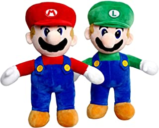 """Nintendo 2Pcs Super Mario Giant 24"""" Plush Mario & Luigi"""