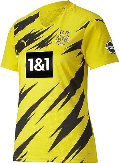 PUMA 1a Equipación 20/21 Replica Borussia Dortmund BVB Fútbol Femenino Camiseta Mujer