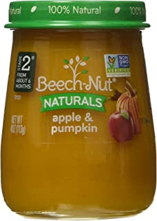 Beech-Nut Stage 2 Baby Food, Apple/Pumpkin, 4.0 Ounce (Pack of 10)
