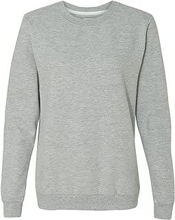 Sweatshirt Marine Femme Bleu Sweat Women's shirt Anvil