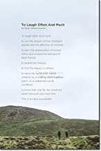 emerson success poem to laugh often