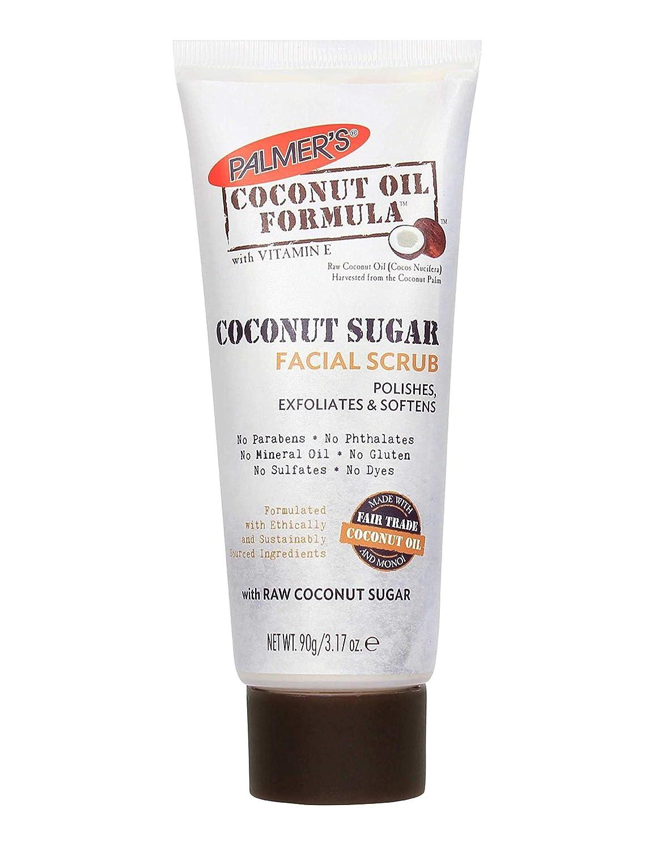 Palmers Coconut Sugar Facial Scrub 3.17 Ounce (3 Pack): Beauty