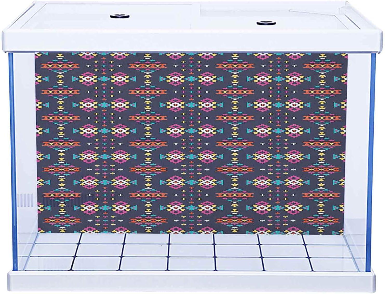 Aquarium Background Mail order cheap Fish Tank Wallpaper Geometric Da in Great interest Pattern