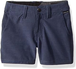 "Volcom boys Frickin Snt Slub 18"" Hybrid 4 Way Stretch Short Youth Casual Shorts"