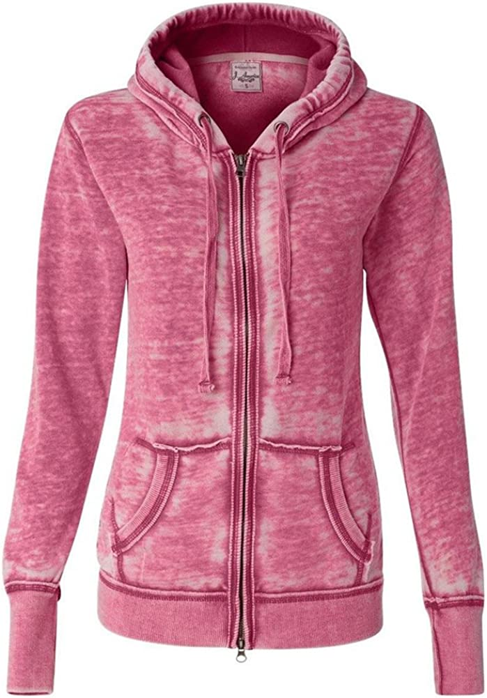 J.America 早割クーポン メーカー再生品 Ladies' Zen Full-Zip Hooded Fleece