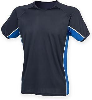 Finden & Hales Childrens/Kids Short Sleeve Performance Panel Sports T-shirt
