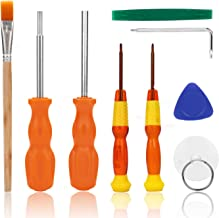 Nintendo Screwdriver, AKWOX 9 in 1 Professional Repair Tool Kit With Triwing Screwdriver L Wrench, 3.8mm and 4.5mm Security Screwdriver for Nintendo Switch/New 3DS / Wii / 2DS /DS Lite/GBA/Gamecube