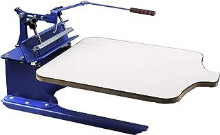 INTBUYING Screen Printing Machine Silk Screen Printing Press 1 Color T-Shirt Press