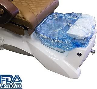 Spa Pedicure Disposable Liner 200 pcs per carton $0.31 each by Mina Beauty Supply