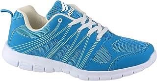 Mirak ~ Milos LACE ~ Trainer/Casual/Sneaker Shoe ~ Turquoise