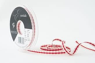 bianco sposa Berisfords nastro in taffeta grezzo 25 mm