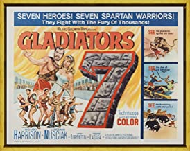 Framed Movie Poster Giclee Print On Canvas-Film Poster Reproduction Wall Decor(Gladiators 7 2) #XLK